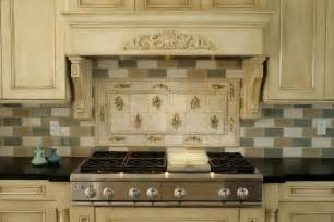 Backsplash Tile Patterns For Kitchens Stoneimpressions Featured Kitchen Backsplash Design Herbs