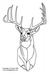 Deer Stencil for Wood Burning Patterns Free