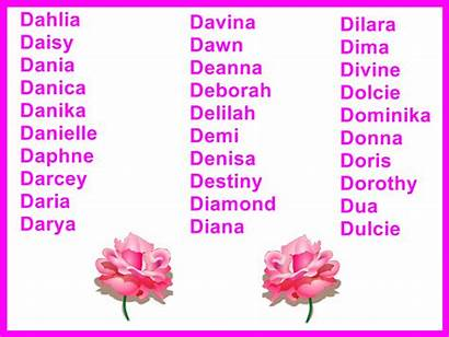 Names Cool Starting Beginning Mean Flower Come