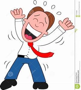 Cartoon Businessman Laughing. Stock Photography - Image ...