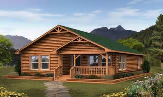 Small Log Cabin Modular Homes