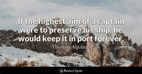highest aim   captain   preserve  ship