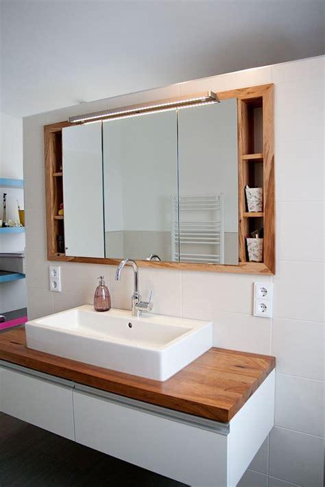Badezimmer Spiegelschrank Aus Holz by Spiegel Einbauschrank Im Bad Goschwand Der Ganz