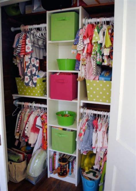 ways to organize clothes without a closet 25 ideas to organize kids closets kidsomania