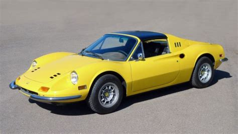 Named after his son dino this gts 246 is in excellent mostly original condition with some orange peeling and fading of the paint which has been technical specifications, photos and description: Ferrari Dino 246 GTS Targa Top Spyder 1973 Yellow For Sale. Dino 246 GT *0642 Fully Restored ...
