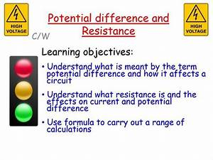 New Aqa Gcse Physics  Potential Difference And Resistance