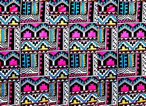 Neon Tribal Patterns