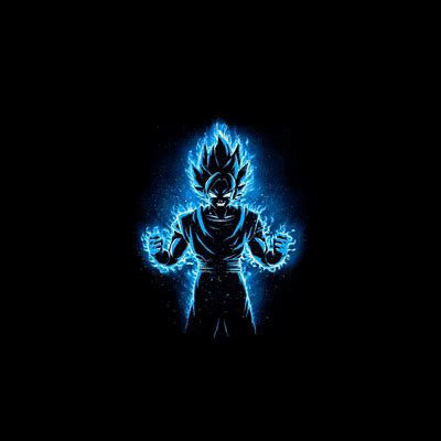 Here you can download the best goku background pictures for desktop, iphone, and mobile phone. Goku Wallpaper Gif 4k