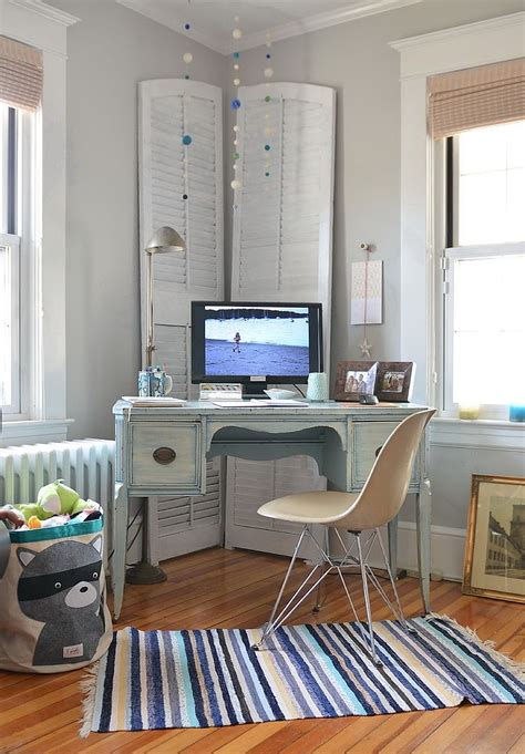 decoration bureau york 30 gorgeous shabby chic home offices and craft rooms