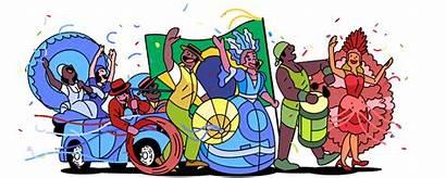Brazil Google Carnaval Doodles Doodle Anita Fitting