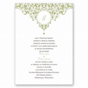 top compilation of wedding invitations in spanish With wedding invitations en espanol