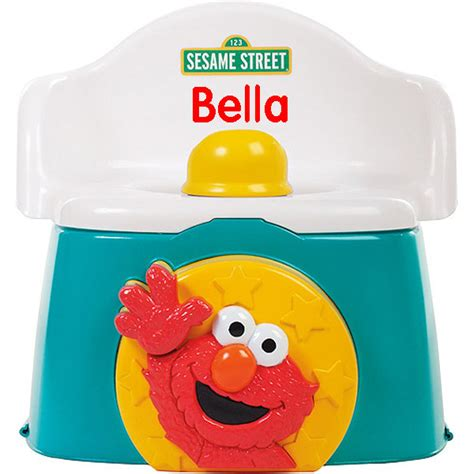 Elmo Potty Seat And Stool elmo potty chair 3 in 1 chair seat and stool potty
