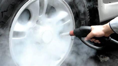 carpet steamer steam cleaning car rims and wheels