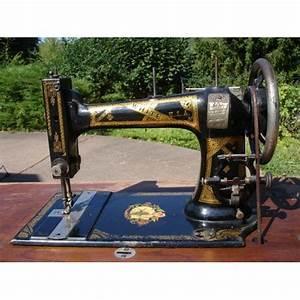 Ancienne Machine A Coudre : machine a coudre ancienne white smc achat et vente ~ Melissatoandfro.com Idées de Décoration