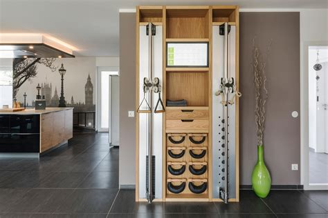 nohrd wall walnut multi gyms from waterrower architonic