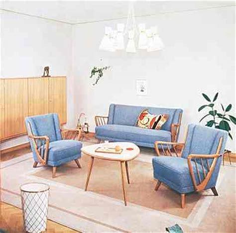 Wohnzimmer 50er Jahre by Wohnzimmer 50er