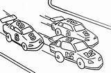 Coloring Pages Colouring Cars Track Template Street Racers Pdf Coloringhome sketch template