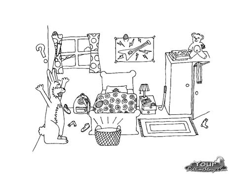 chambre dessin 38 dessins de coloriage chambre à imprimer sur laguerche