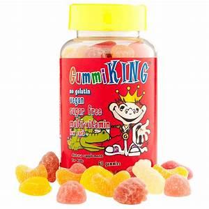 Gummi King, Sugar-Free Multi-Vitamin, For Kids, 60 Gummies ...