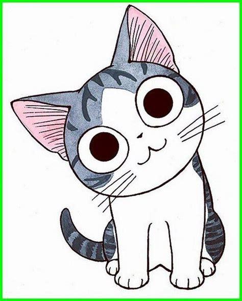 Kucing Lucu Gambar Kartun Hewan Lucu Dan Imut Ideku Unik