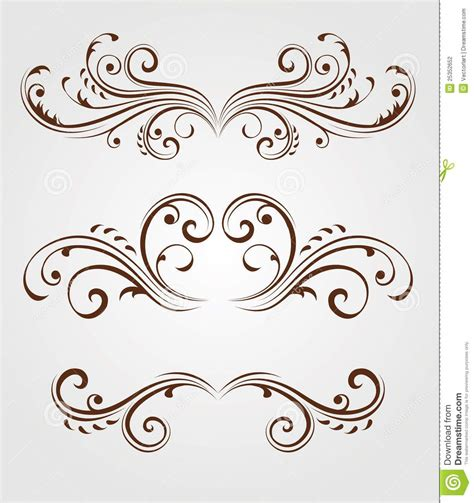 floral design elements stock photography image 25352652