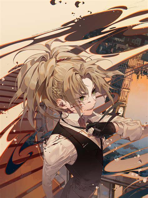 red saber fateapocrypha zerochan anime image board