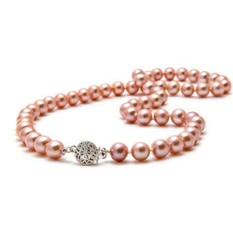 pearl and pendant necklace pink pearl necklace the pearl southern