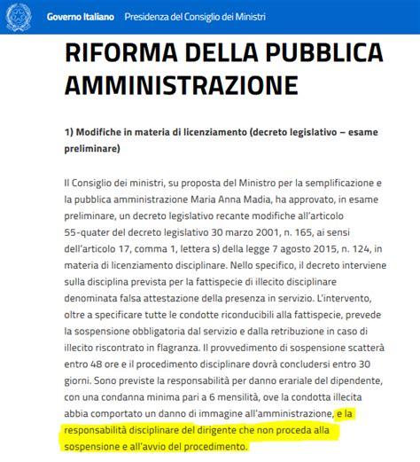 Provvedimenti Consiglio Dei Ministri by Lantieri Lotta Agli Assenteisti In Sicilia Le Norme