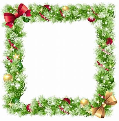 Border Holiday Transparent Candy Clipart Frames Cane