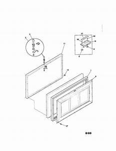 Kenmore 2539187111 Chest Freezer Parts