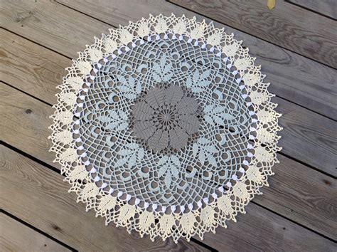 napperon crochet tr 232 s tendance f 233 e des belles choses
