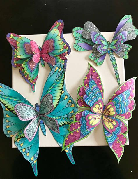 Paper butterfly, layered butterfly diecut, giant butterfly cut outs , 3d butterfly , handmade wall decor, geometric butterfly (pattern 1) wonderfullymade1214 4.5 out of 5 stars (10) Excited to share this item from my Etsy shop, The Art of ...
