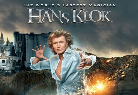 Read the ideation behind the design. Hans Klok: The World's Fastest Magician | Las Vegas Direct