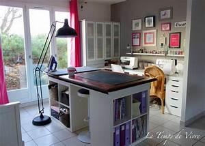Créer Son Bureau Ikea : l 39 atelier le temps de vivre ~ Melissatoandfro.com Idées de Décoration