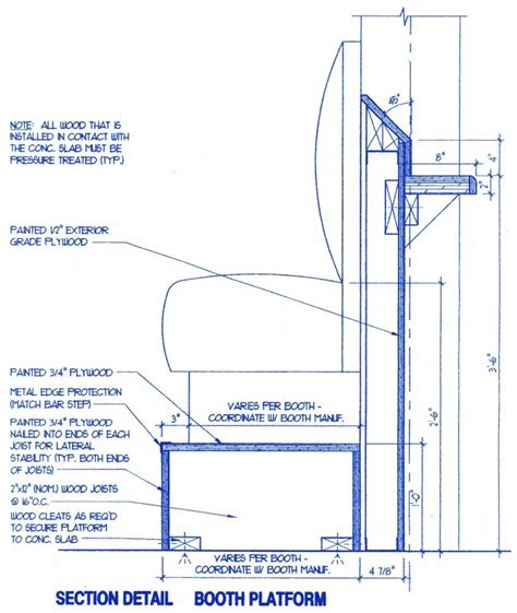bar height booth platform suggested dimensions kitchen