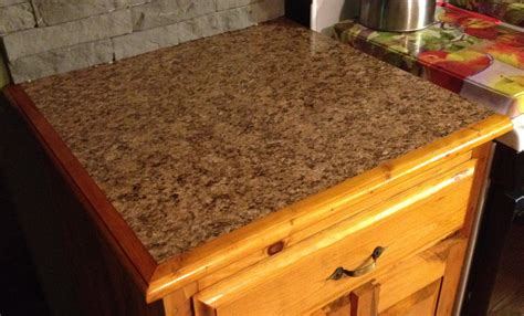 countertop with custom wooden edges