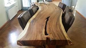 Massivholztisch Selber Bauen : gartenmobel ideen innen massivholztisch baumscheibe mit faszinierend akzent ~ Watch28wear.com Haus und Dekorationen