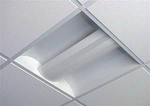 Recessed modular fluorescent fittings