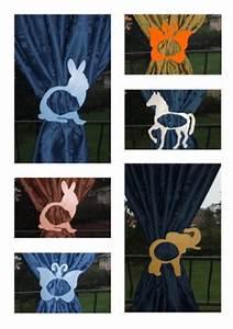 Embrasse Rideau Originale : article embrasse rideau lapin pour chambre d 39 enfants ~ Teatrodelosmanantiales.com Idées de Décoration
