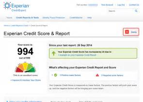 Experian Free Credit Report