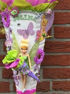 Schultüte Mädchen Basteln : tinkerbell an design schult te zuckert te design ~ Lizthompson.info Haus und Dekorationen
