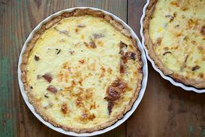 Quiche with Gruyere and Bacon