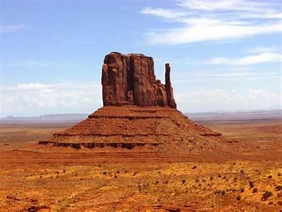 Arizona Monument Valley Desert Mesa Rock Formations