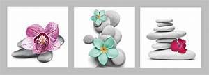 Bilder Feng Shui Steine : bild auf leinwand mit keilrahmen blumen steine orchidee wellness feng shui set ebay ~ Whattoseeinmadrid.com Haus und Dekorationen