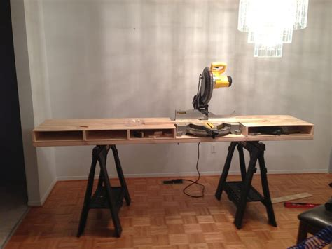 diy miter  table plans guide patterns
