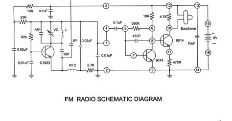 Simple Receiver Circuit Diagram