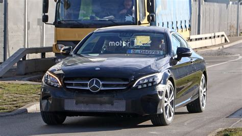 Mercedes C Class Coupe Photo by 2018 Mercedes C Class Coupe Facelift Photos Motor1