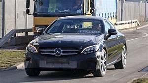 Mercedes Classe C Restylée 2018 : photos espion mercedes classe c coup restyl e 2018 photos ~ Maxctalentgroup.com Avis de Voitures