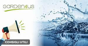 Eliminare il calcare dall'acqua Garden4us