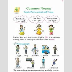 Good Grammar » 1st Grade Grammar Common Nouns 1